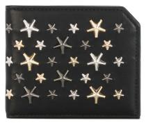 'Albany' Portemonnaie mit Stern-Nieten