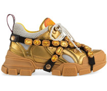 'Flashtrek' Sneakers mit Kristallen