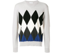 diamond pattern jumper