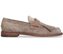 'Kiltie' Loafer mit Zierlasche