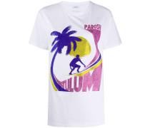 P.A.R.O.S.H. T-Shirt mit Logo-Print