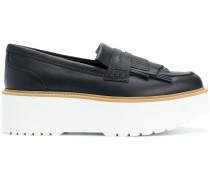 Plateau-Loafer mit Fransen