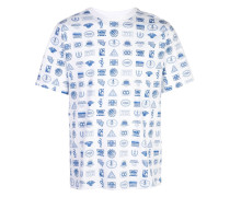 T-Shirt mit Logos