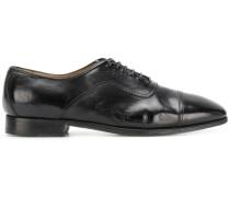 Oxford-Schuhe mit eckiger Kappe