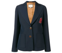 Blazer mit NY-Yankees-Patch