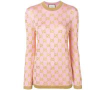 embellished GG motif jumper