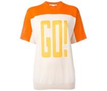 "T-Shirt mit ""Go!""-Print"