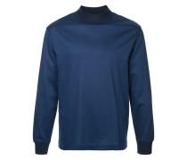 Sweatshirt mit Kontrastsaum