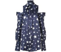Mon Star cold-shoulder shirt