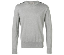 Pullover mit Schulter-Patches