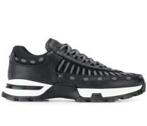 Sneakers mit Schnür-Details