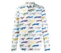 Hemd mit Tiger-Print