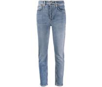 Taillenhohe Skinny-Jeans