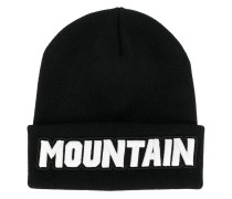 "Mütze mit ""Mountain""-Patch"