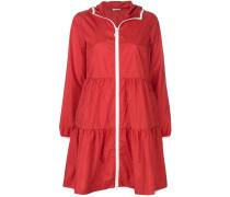 P.A.R.O.S.H. zip-up flared coat
