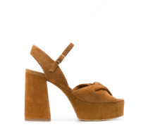 Sandalen mit Plateau, 120mm