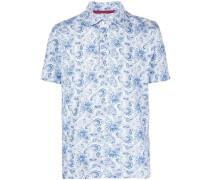 Poloshirt mit Paisley-Print