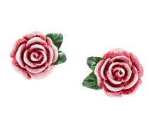 Ohrstecker mit Rosen