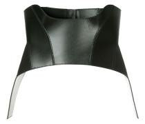 Korsett-Gürtel aus Leder