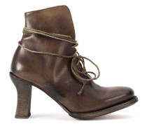 elongated fastening boots