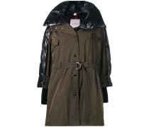 Hybrid hooded coat