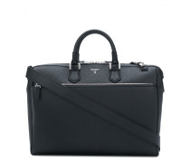 logo plaque briefcase