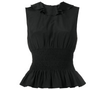 Top mit gesmokter Taille