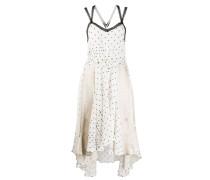 Asymmetrisches Kleid mit Einsätzen