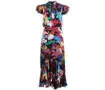 'Greta' Kleid mit gerüschtem Saum