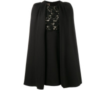 Makramee-Kleid mit Cape