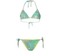 Bikini mit floralem Print