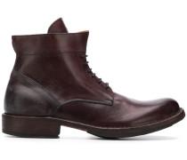 Schnürstiefel mit gebogener Schuhspitze