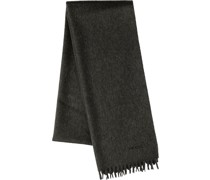 Langer Schal mit Fransen