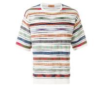 Gestreiftes Oversized-T-Shirt