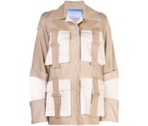 Safari-Jacke mit Gürtel