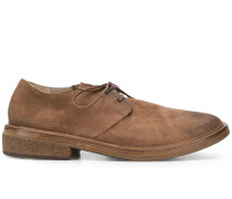 round toe derby shoes