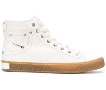 High-Top-Sneakers mit Taschendetail