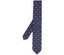 Krawatte mit Sonnenblumen-Print