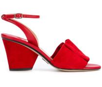 open-toe ruffle sandals