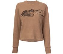 Season 6 printed thermal sweater