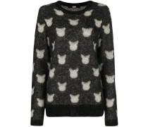 'Choupette' Jacquard-Pullover