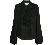 'Niseema' Bluse mit Rüschen