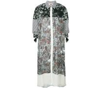 Hemdkleid mit Patchwork-Design