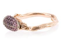 18k rose gold Scarab amethyst ring