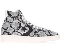 High-Top-Sneakers mit Pailletten