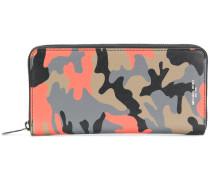 Harrison camouflage-print zip-around wallet