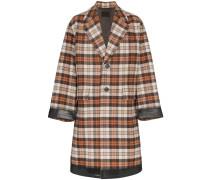 Oversized single breasted coat