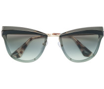 Sonnenbrille mit breitem Rahmen