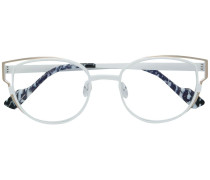 Klassische Cat-Eye-Brille