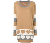Pullover mit langem Schnitt